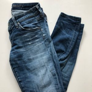 Citizens of humanity skinny jeans sz 26